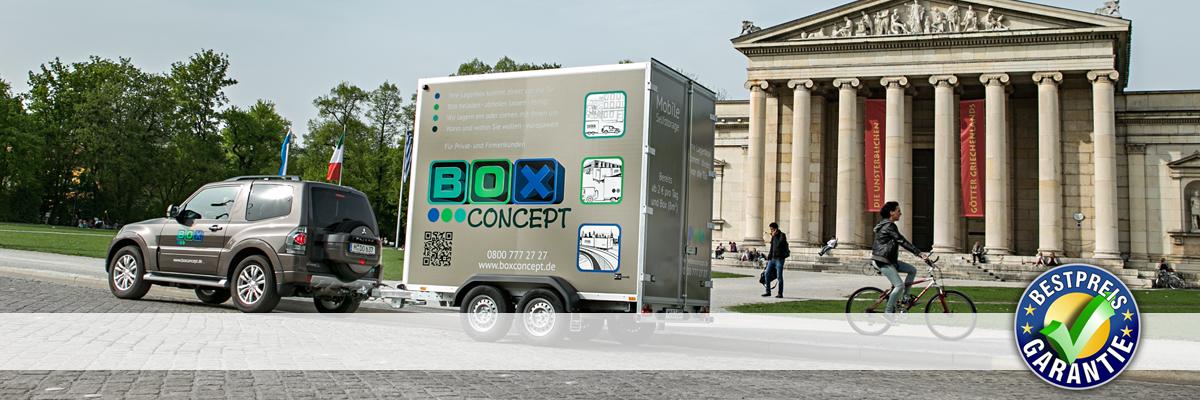 BoxConcept - Ihr Self Storage in München.